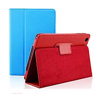 farverige beskyttende pu læder full body taske med stativ til iPad luft 2 (assorterede farver)