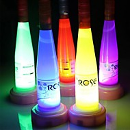Wine Bottle LED Night Light Lamp (Random Color)