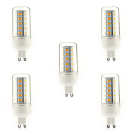 5 pcs E14 / G9 / E26/E27 7 W 36 SMD 5730 700 LM Warm White / Natural White / Cool White T Corn Bulbs AC 220-240 V
