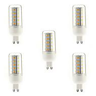 5 adet G9 / e14 / e27 7w 36x5730smd 700lm sıcak / doğal / soğuk beyaz ışık mısır ampul led (220-240v)