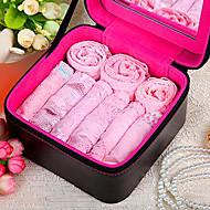 jour des sous-vêtements de dentelle rose sexy de la valentine (9pcs / set)
