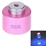 bärbara mini kreativa luftrenande atomisering luftfuktare usb powered kapsyler luftfuktare (blandade färger)