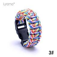 Survival Bracelet Survival Hiking Nylon Other - Lureme