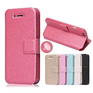 Til Etui iPhone 7 Etui iPhone 7 Plus Etui iPhone 6 Etui iPhone 6 Plus Etui iPhone 5 Kortholder med stativ Flipp Etui Heldekkende Etui