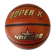 super-k ® # 7 pvc basket en cuir