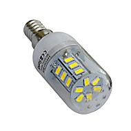 E14 4 W 24 SMD 5730 320-360lm LM Warm White / Cool White T Corn Bulbs AC 220-240 V