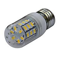 jiawen® E27는 6w 30x5730smd 480-540lm 3000-3200k / 6000-6500k 따뜻한 화이트 / 화이트 빛 옥수수 램프 전구 (교류 220V)를 주도