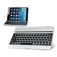 ultra-tynne mobil trådløs bluetooth aluminiumslegering tastatur for ipad luft (assorterte farger)