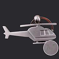 Personalizado em forma de helicóptero gravado dom criativo Keychain