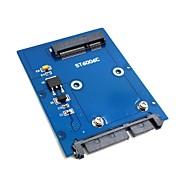 """tipo sottile mini PCI-e SSD mSATA da 2.5 """"SATA HDD 3.0 22pin hard disk PCBA"""