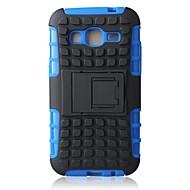 hybride tpu + pc kick stand geval voor Samsung kern prime G360