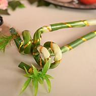 "29.9 ""l set van 1 lucky bamboo plastic planten"