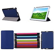 10.1 Inch Triple Folding Pattern High Quality PU Leathe Case for Asus MeMO Pad 10-ME103K(Assorted Colors)
