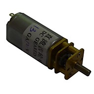 30rpm 13ga 12v 3mm aksling mini dc rettet gearkasse motor for smart bil