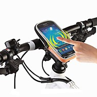 roswheel cykla cykel skyddsstyrväska påse transparent PVC touchable för 4,8 mobiltelefon