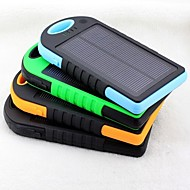 12000mAh Dustproof Shockproof Resistant Solar Power Bank for iPhone6/6plus/5/5s Samsung S4/5 and other Mobile Devices
