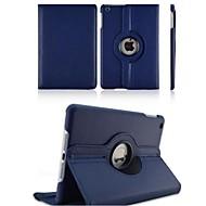 Appel Ipad 2/iPad 4/iPad 3 - Effen Kleuren - 360⁰ Cases/Origami Cases (Pu-Leder , Rood/Zwart/Groen/Blauw/Bruin/Roze/Paars)