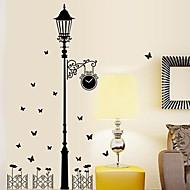 muurstickers muur stickers Stree licht functie uitneembare wasbare pvc