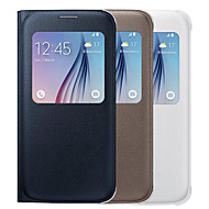 BIG D High Quality Full Body Flip Case for Samsung Galaxy S6 G9200(Assorted Colors)