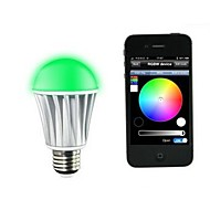 Smart Bluetooth LED Bulb Can Control Seven Colors E27/B22 Screw Specification Connect With APP