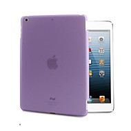 iPad 2/iPad 4/iPad 3 compatible Solid Color Plastic Back Matte Cases