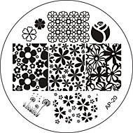Palec/Inny - Streszczenie - Metal - 6x6 - 1