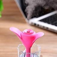 ny usb mini kløver nattlys luftfukter kontor luft diffuser aroma tåke maker