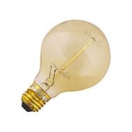 1個 YouOKLight E26/E27 40W 400 LM 温白色 装飾用 LEDボール型電球 V