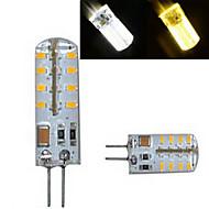 1 kpl dingyao G4 4.0 W 32LED SMD 3014 300-450 LM Lämmin valkoinen/Kylmä valkoinen Kohdevalaisimet AC 220-240 V
