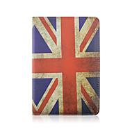 7,9 ιντσών 360 μοιρών μοτίβο της σημαίας περιστροφής PU δερμάτινη θήκη με βάση και στυλό για μίνι iPad 1/2/3