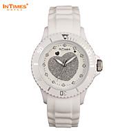 intimes es-043 Marken Frauen kleiden Uhren Quarz Strass Uhren