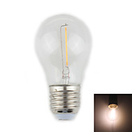 Lampade LED a incandescenza 1 Capsula LED Zweihnder G E26/E27 1 W Decorativo 100 LM Bianco caldo 1 pezzo AC 220-240 V