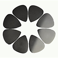 0.3mm rustfrit stål guitar picks plektre 50stk-pack