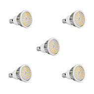 5Pcs E14 8W 48x2835SMD 720LM 2800-3200K/6000-6500K Warm White/Cool White Light LED Spot Bulb (85-265V)