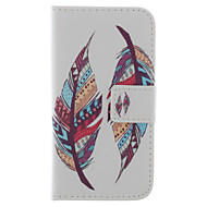 Feather PU Leather Wallet Full Body Case with Stand and Card Slot for Samsung Galaxy S3 I9300