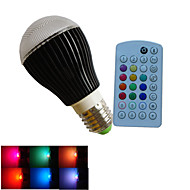 1pcs SchöneColors® E27/B22/GU10 3X 3W LED Dimmable/Music-Controlled/Remote-Controlled/Decorative Bulbs AC85-265V