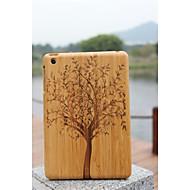 mit verschiedenen Mustern echte natürliche Bambusholz Holz harten rückseitigen Abdeckung Schutzhülle für ipad mini sortierte Farbe