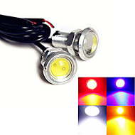 1 pcs ding yao 9W 1X COB 60-100LM K Cool White/Red/Blue/Yellow Decorative Decoration Light DC 12V