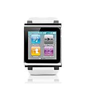 correa para la muñeca colorido diseño del reloj para iPod Nano 6