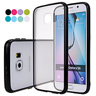 GYM Translucent Matte Soft TPU Case for Samsung Galaxy S6 G9200(Assorted Colors)