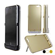 5000mAh 5.0V + 0.2V dc batteri Case for iPhone 6 plus (assorterede farver)