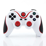 Wireless Bluetooth Game Controller for PS3  (White)