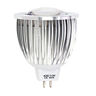 12W LED-spotlights MR16 1LED COB 450-950 lm Varmvit / Kallvit DC 12 / AC 12 V 1 st