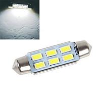 1 pcs 4W 6x SMD 5630 200-250lm 6500-7500k branco fresco decoração decorativo luz DC 12V