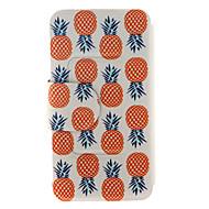 Για Samsung Galaxy Note Θήκη καρτών / Πορτοφόλι / με βάση στήριξης / Ανοιγόμενη tok Πλήρης κάλυψη tok Φρούτα Συνθετικό δέρμα SamsungNote