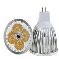 1 pcs  12W 4LED  COB 600-700 LM K Warm White/Cool White MR16 Globe Bulbs AC 85-265 V