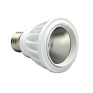 Everbrite E26/E27 7 W COB 630 LM Varm hvit/Kjølig hvit/Naturlig hvit PAR Dimbar Parlamper AC 85-265 V