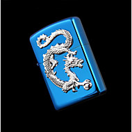 dragon bleu exquise chrome brillant kérosène plus léger