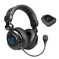 HUHD® Optical Decoder 2.4G Wireless Video Gaming Headset Headphones with Mic for PC/MAC/TV/PS3/PS4/Xbox 360/Xbox One