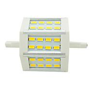 R7S 7.0 W SMD 5730 640lm LM Lämmin valkoinen/Kylmä valkoinen Valonheittimet AC 85-265 V
